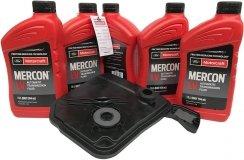 Filtr olej Motorcraft Mercon LV skrzyni biegów 6F35 Ford Kuga 2013-