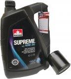 Filtr oleju oraz olej SUPREME 10W30 Chrysler Neon 2,0 16V