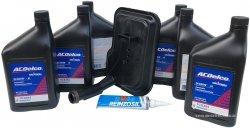 Filtr + olej ACDelco automatycznej skrzyni biegów GMC Savana 2010-