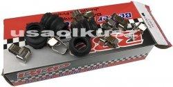 Zestaw naprawczy przednich prowadnic oraz klocków D1084 Dodge Dakota 2005-