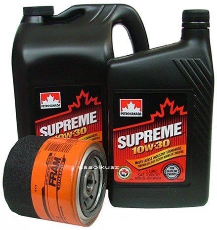 Filtr oleju FRAM PH16 oraz olej SUPREME 10W30 Dodge Caravan
