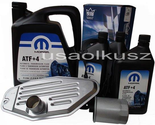 Olej MOPAR ATF+4 oraz filtry skrzyni biegów Dodge Dakota 2000-