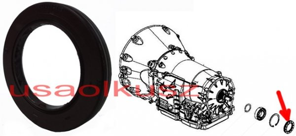 Uszczelniacz skrzyni biegów NAG1 / W5A580 Jeep Wrangler JK 2011-