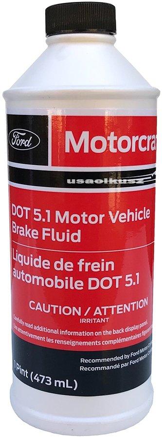Płyn hamulcowy Motorcraft DOT 5,1 Ford Lincoln
