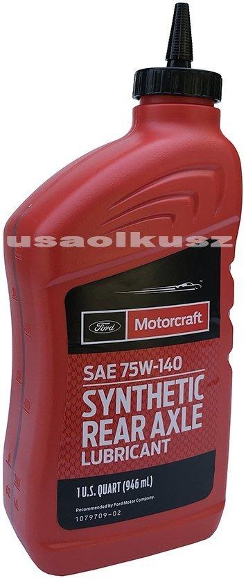 Syntetyczny olej mostu Motorcraft 75W-140 Ford