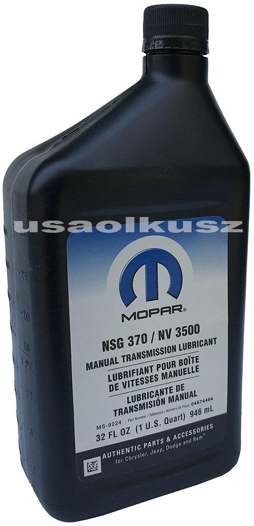 Olej manualnej skrzyni NSG370 MOPAR MS-9224