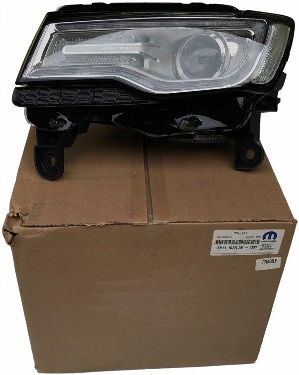 Reflektor bi-xenon adaptacyjny lewy europa LMQ MOPAR Jeep Grand Cherokee 2014-2016