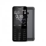 Telefon Nokia 230 DS czarno-grafitowy