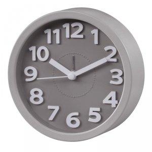 Zegar budzik Hama Retro, szary