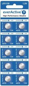 Baterie alkaliczne mini everActive AG10 G10 LR1130 LR54 10 sztuk