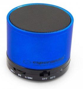 Głośnik Bluetooth Esperanza Ritmo Niebieski EP115B