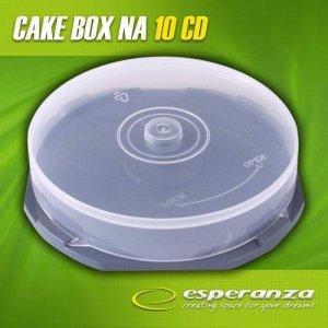Pudełko Cake Box Esperanza na 10 CD - PAKOWANE W WOREK