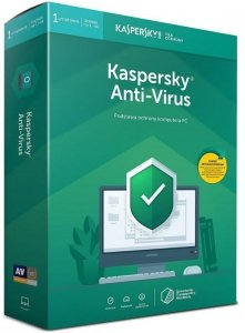Licencja BOX Kaspersky Anti-Virus 2019 Polish Edition 1-Desktop 1 year + METAL POSTER