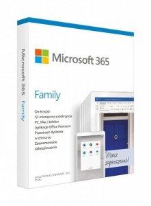 Oprogramowanie Microsoft 365 Family PL P6 1Y Win/Mac