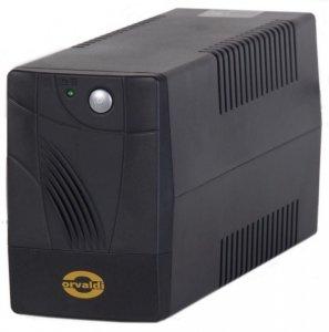 Zasilacz awaryjny UPS ORVALDI 650 LED USB Line-Interactive