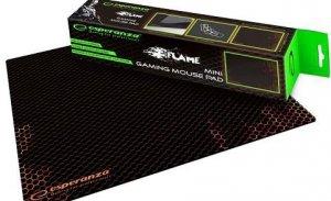Podkładka pod mysz Esperanza EGP101R Gaming Flame mini