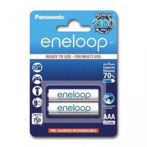 Panasonic Eneloop R03/AAA 750mAh akumulator – 2 szt blister