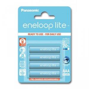 Panasonic Eneloop Lite R03/AAA 550mAh akumulator – 4 szt blister