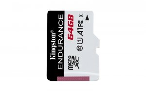 Kingston karta pamięci microSDXC Endurance (64GB   class 10   UHS-I   95 MB/s)