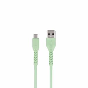 Maxlife kabel MXUC-04 USB - USB-C 1,0 m 3A zielony