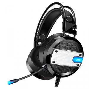 XO słuchawki przewodowe GE-02 jack 3,5mm nauszne czarne