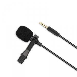 XO mikrofon przewodowy MKF01 jack 3,5 mm czarny