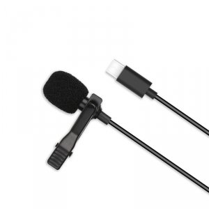 XO mikrofon przewodowy MKF02 USB-C czarny