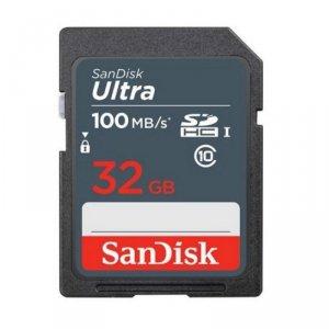 SanDisk karta pamięci Ultra SDHC 32 GB 100 MB/s