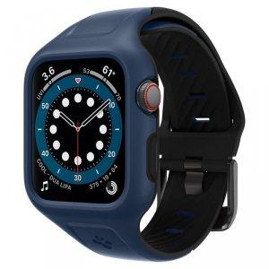 Spigen pasek Liquid Air Pro do Apple Watch 4 / 5 / 6 / SE 44 mm niebieski