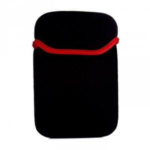 Etui do tabletów 7 neopren czarno-czerwone