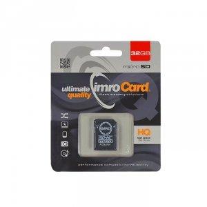 IMRO MicroSDHC 32GB kl.10 UHS-I z adapterem