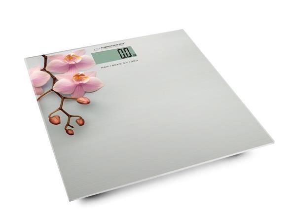 "Waga łazienkowa Esperanza EBS010 ""Orchid"""