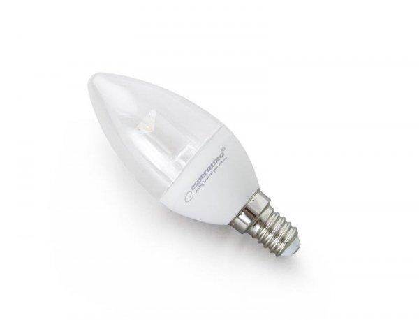 Żarówka LED Esperanza C37 Lens E14 5W