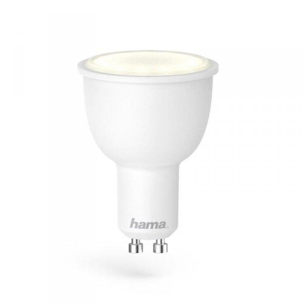 Żarówka LED Hama WIFI GU10, biała