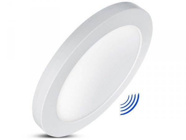 Panel plafon LED 7in1 Led4U LD140 podtynkowy natynkowy ultra slim 18W 3 kolory (WW, NW, CW) mikrofala wbudowany zasilacz