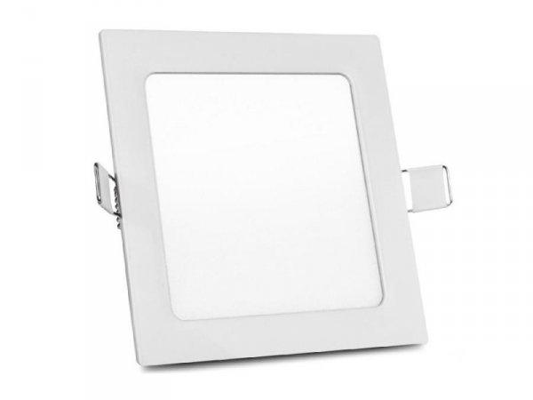 Panel LED sufitowy Led4U LD154C podtynkowy slim 12W Cold white 5500-6500K 170*170*H20mm