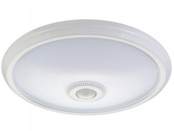 Plafon LED Maclean MCE131 12W z czujnikiem ruchu pir zasięg 6m