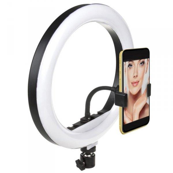 Lampa pierścieniowa 12'' LED 20W Maclean MCE612 zmiana barwy światła, zmiana jasności