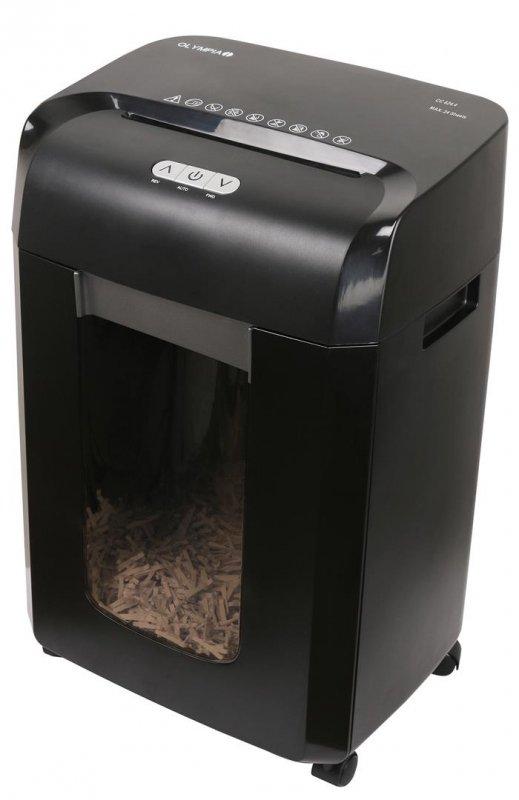 Niszczarka ścinkowa Olympia CC 624.4 czarna