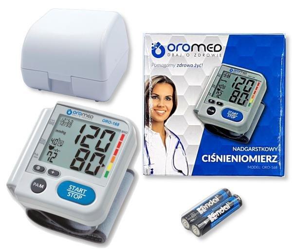 Ciśnieniomierz OROMED ORO-168