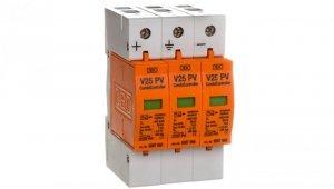 Ogranicznik przepięć PV 900V DC Typ 1+2 3P 7kA V25-B+C Typ 1+2 3-PH900 5097447