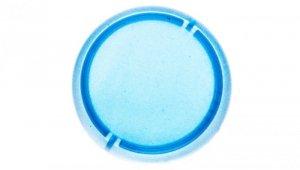 Soczewka przycisku 22mm płaska niebieska bez opisu M22-XL-B 216457