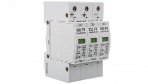 Ogranicznik przepięć PV 1000V DC Typ 2 C 3P 20kA 4kV V20-C 3-PH-1000 5094608