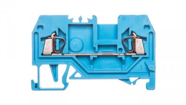 Złączka szynowa 2-przewodowa 1,5mm2 niebieska 279-904