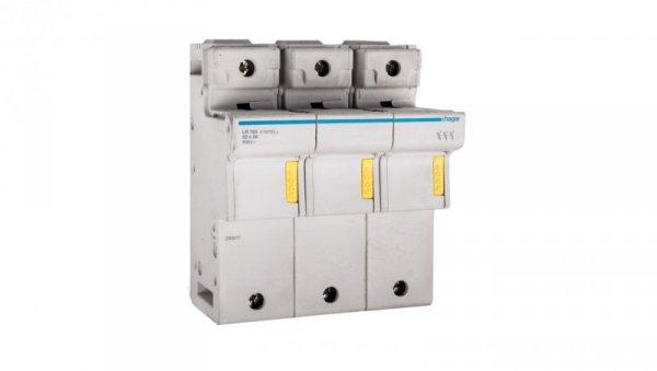 Rozłącznik bezpiecznikowy cylindryczny 3P 22x58mm LR703