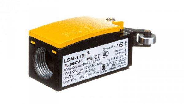 Wyłącznik krańcowy bezpieczeństwa 1R 1Z migowy dźwignia z rolką LSM-11S/L 266151