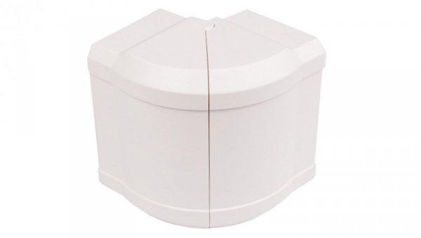 Kąt zewnętrzny regulowany 110x70mm 85-95 stopni BRN 70110 biały G12029010