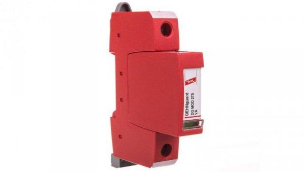 Ogranicznik przepięć C Typ 2 1P 10kA 1,5kV ( warystor szeregowo z iskiernikiem - brak prądu upływu)  DEHNguard S 275 VA FM 95208