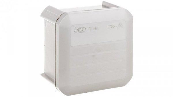 Puszka n/t odgałęźna 90x90x52 IP55 T 40 OE 2007223