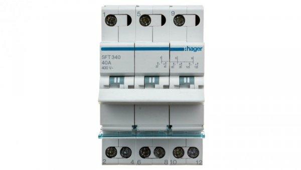 Przełącznik modułowy 1-0-2 40A 3P SFT340